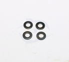 M3 Flat Washer - Black Oxide (100pcs)