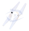 Multirotor HQ Prop - DJI Style Self Tightening White - 9.4x4.3
