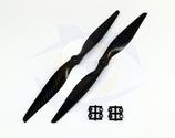 Gemfan Carbon Fiber Propeller - 13 x 6.5 (2PCS, CW & CCW)
