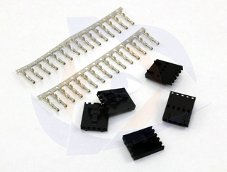 IRC Male Connector with Female Pins (5 pcs)