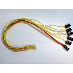 "Extended 12"" Receiver Connection Harness for Vector"