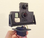 CXN - GoPro + FPV Camera Pan & Tilt Version 2 - 2015