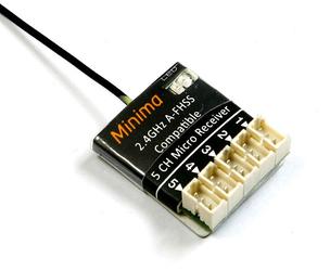 FrSky - 5CH Minima Compatible Receiver (Hitec)