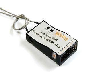 FrSky - 8ch 2.4GHz Hitec A-FHSS Compatible Receiver