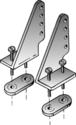 DuBro Nylon Control Horns 1 Left & 1 Right #105 (2pcs)