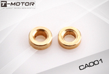 "Copper Adapter - 4MM x 2MM for 6-7"" CF (4pcs)"