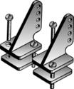 DuBro 1/2A Control Horns #107 (2pcs)