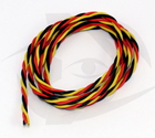 Premium Servo Wire - 22g Twisted, 1m Section
