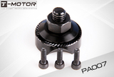 Tiger Motor - M6 CW Prop Adapter: Certain MT Series - Carbon