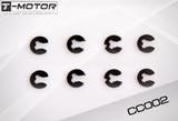 C-Clips - For 2mm Motor Shafts (10pcs)