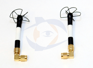 Circular Wireless - 5.8 GHz Omni TX/RX Skew Planar Wheel Combo