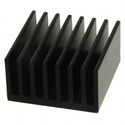 Heat Sink with Adhesive Backing - 15x15x9.5mm