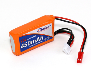 RMRC Orange Series - 450mAh 3S 75C Lipo - JST (5.0Wh)