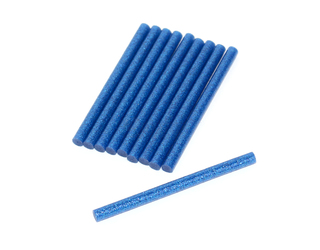 RMRC Hot Glue Sticks - Blue (10pcs)
