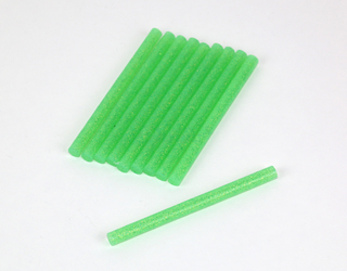 RMRC Hot Glue Sticks - Green (10pcs)