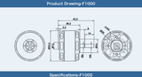 Tiger Motor F1000 - 635kv (1PC)
