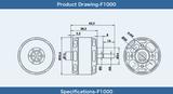 Tiger Motor F1000 - 545kv (1PC)