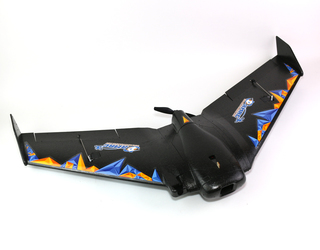 RMRC Recruit Stealth Black EPP Wing V2 PNP Stabilized FPV Ready