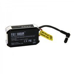 FatShark 1800mAh 7.4v Goggle Battery Pack with USB Charging
