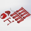 Vortex 150 Mini Crash Kit 1 Red