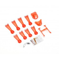 Vortex 150 Mini Crash Kit 1 Red Transparent