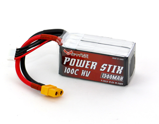 STRIX Power Stix - HV 1300mAh 4S 100C Lipo Pack - XT60 (Wh 19.7)