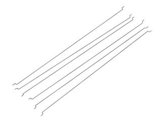 ".039"" Piano Wire - 6 PCS with Z-Bends"