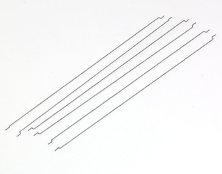 ".047"" Piano Wire - 6 PCS with Z-Bends"