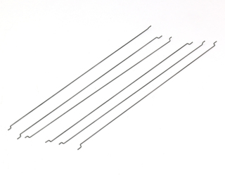 ".059"" Piano wire - 6 PCS with Z-Bends"