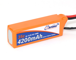 RMRC Orange Series - 4200mAh 4S 35C Lipo - XT60 (62.2Wh)
