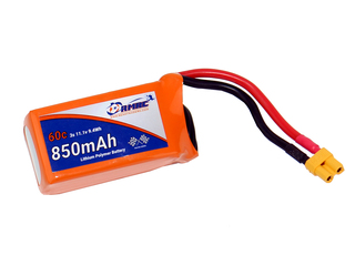 RMRC Orange Series - 850mAh 3S 60C Lipo - XT30 (9.4Wh)