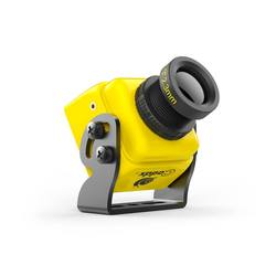 Caddx Turbo S1 Camera with OSD - Yellow / 2.1 Lens / NTSC