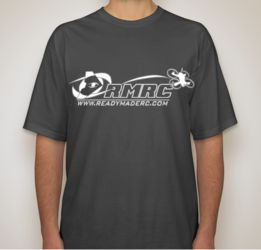 RMRC Logo T-Shirt - Charcoal XL Tall