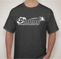RMRC Logo T-Shirt - Heather Gray Medium