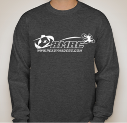 RMRC Logo Long Sleeve T-Shirt - Heather Gray Large