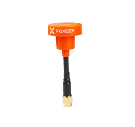 Foxeer Pagoda PRO 5.8G RHCP SMA Short Antenna - Orange