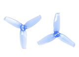 Gemfan Flash Durable 3 Blade 2540 - Clear Blue