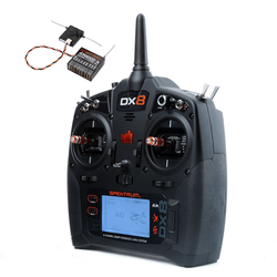 Spektrum DX8 Transmitter Mode 2 with AR8000 Receiver