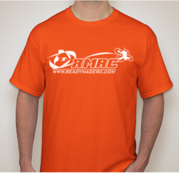 RMRC Logo T-Shirt - Orange 4XL