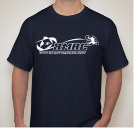 RMRC Logo T-Shirt - Navy Blue Small