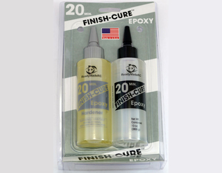 Finish-Cure 20 Minute Epoxy - 13 oz