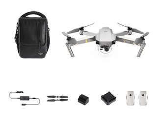 DJI Mavic Pro - Fly More Combo - Platinum