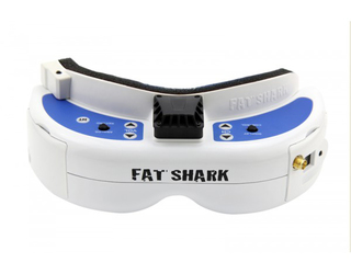 FSV1063-04 fat shark dominator v3 rtf white blue hd 16:9 front