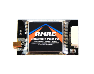 RMRC Cricket Pro V2 - 5.8GHz VTX with Smart Audio - MMCX