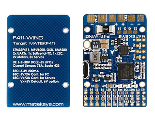matek flight controller f411 flying wing