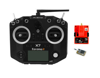 FrSky Taranis Q X7 Black with R9M and R9MM