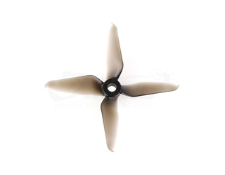 RaceKraft 3041 Q4CS 4 Blade Propeller Set - Clear Smoke