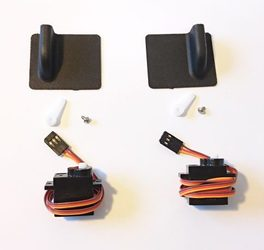 Wingbeat ROWCROW Replacement Servo Kit Black