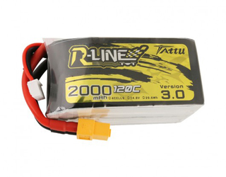 Tattu R-Line Version 3.0 2000mAh 14.8V 120C 4S1P