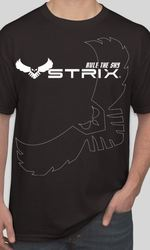 STRIX Logo FPV T-Shirt Black - Small
